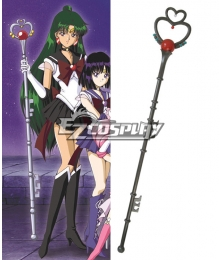 Sailor Moon S Meiou Setsuna Sailor Pluto Cosplay Weapon