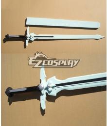 Sword Art Online SAO Kirigaya Kazuto Kirito Dark Repulser A Sword Cosplay Weapon