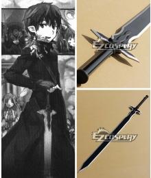 Sword Art Online Notre Dame Chant Articles SAO Kirigaya Kazuto Kirito Black Swords Cosplay Weapon