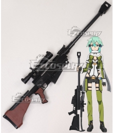 Sword Art Online 2 Gun Gale Online SAO GGO Asada Shino Shinon PGM Ultima Ratio Hecate II Cosplay Weapon