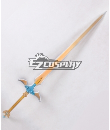 Sword Art Online ALfheim Online SAO ALO Kirigaya Kazuto Kirito Excalibur Sword Animated Version Cosplay Weapon