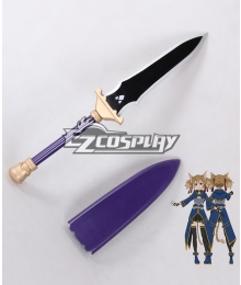Sword Art Online ALfheim Online SAO ALO Silica Shirika Shadow Dagger Sword Cosplay Weapon