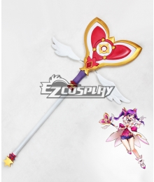 Elsword Aisha Dimension Witch Staves Cosplay Weapon