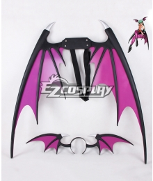 Darkstalkers Morrigan Aensland Wings Headdress Cosplay Accessories