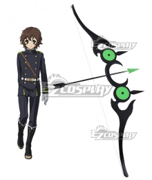 Seraph of the End Vampire Reign Owari no Serafu Yoichi Saotome Bow And Arrow Weapons Cosplay Prop