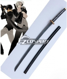 Gangsta Gyangusuta Nicolas Brown Nic Sword Cosplay Weapon Prop