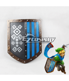 Zelda Muso Hyrule Warriors Link Shield Cosplay Prop