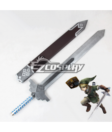 Zelda Muso Hyrule Warriors Link Sword Cosplay Prop