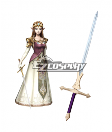The Legend of Zelda Zeruda no Densetsu Twilight Princess Princess of Hyrule Zelda Zeruda-hime Sword Cosplay Prop