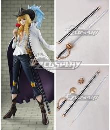 One Piece Cavendish Sword Cosplay Weapon Prop