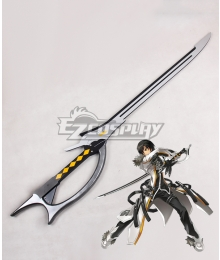 Elsword Raven Blade Master Sword Cosplay Weapon Prop