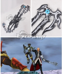 Kingdom Hearts Birth by Sleep Master Xehanort Key blade Cosplay Weapon Prop