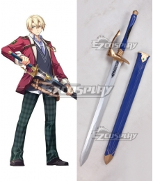 The Legend of Heroes: Trails of Cold Steel Jusis Albarea Sword Cosplay Weapon Prop