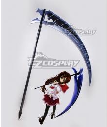 Aria the Scarlet Ammo Hidan no Aria Tohyama Kinichi Kana Sickle Cosplay Weapon Prop