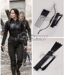 The Hunger Games Mockingjay Katniss Everdeen Bow and arrow Cosplay Weapon Prop