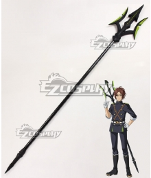 Seraph of the End Battle in Nagoya Owari no Serafu Vampire Reign Makoto Narumi Trident Cosplay Weapon Prop