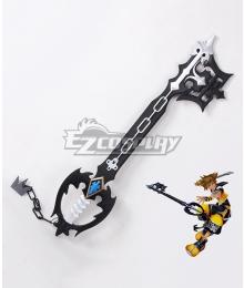 Kingdom Hearts Sora Roxas Xion Oblivion Keyblade Black Cosplay Weapon Prop