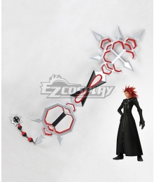 Kingdom Hearts Lea Axel Bond of Flame Keyblade Cosplay Weapon Prop