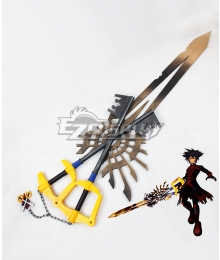 Kingdom Hearts Birth by Sleep Ventus Vanitas Incomplete X-blade Keyblade Cosplay Weapon Prop