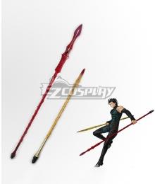 Fate Zero Diarmuid Ua Duibhne Lancer Spear Cosplay Weapon Prop