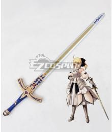 Fate Stay Night Artoria Pendragon Saber Lily Sword Cosplay Weapon Prop