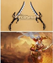 League of Legends Warring Kingdoms Katarina The Sinister Blade Dagger Cosplay Weapon Prop