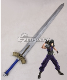 Final Fantasy VII Crisis Core FF7 Zack Fair Sword Cosplay Weapon Prop