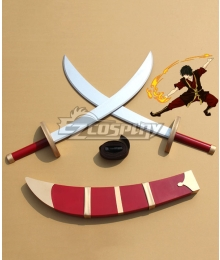 Avatar The Last Airbender Zuko Sword Cosplay Weapon Prop