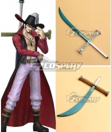 One Piece Dracule Mihawk Sword 73cm Cosplay Weapon Prop