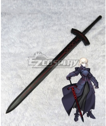 Fate Stay Night Black Saber Artoria Pendragon King Arthur Sword Cosplay Weapon Prop