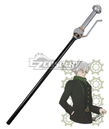 RWBY Beacon Academy Staff Professor Ozpin Cane Cosplay Weapon