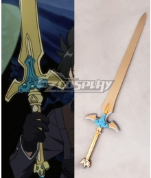 Sword Art Online ALfheim Online SAO ALO Kirigaya Kazuto Kirito Excalibur Animated Version Sword Scabbard Cosplay Weapon Prop