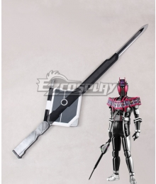 Kamen Rider Decade Decade Ride Booker Sword Cosplay Weapon Prop