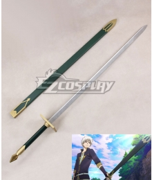 Snow White with the Red Hair kagami no Shirayukihime Zen Wisutaria Sword Cosplay Weapon Prop