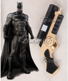 DC Comics Batman v Superman: Dawn of Justice Bruce Wayne Gun Cosplay Weapon Prop