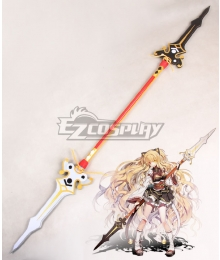 Elsword Ara Haan Spear Cosplay Weapon Prop