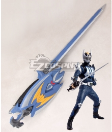 Kamen Rider Ryuki Masked Rider Knight Ren Akiyama Sword Cosplay Weapon Prop