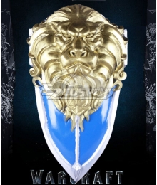 Warcraft The Beginning World of Warcraft WOW Stormwind Cavalry Lion Shield Cosplay Weapon Prop