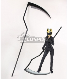 DuRaRaRa!! Celty Sturluson Scythe Cosplay Weapon Prop