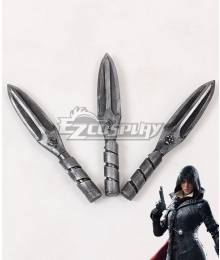 Assassin's Creed Syndicate Evie Frye Three Daggers Cosplay Weapon Prop