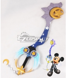 Kingdom Hearts Mickey Mouse Star Seeker Keyblade Cosplay Weapon Prop