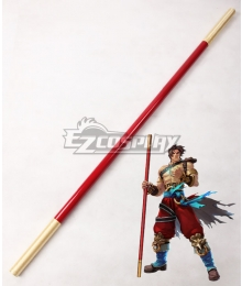Soul Edge Kilik Stick Cosplay Weapon Prop