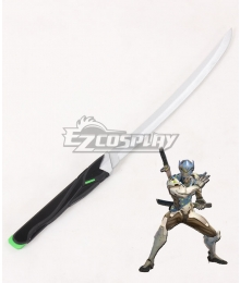Overwatch OW Genji Shimada Short sword Cosplay Weapon Prop