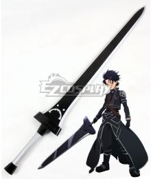 Sword Art Online ALfheim Online SAO ALO Kirito Kirigaya Kazuto Black Sword Cosplay Weapon Prop