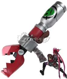 League of Legends Loose Cannon Slayer Jinx Rocket Launcher Cosplay Weapon Prop