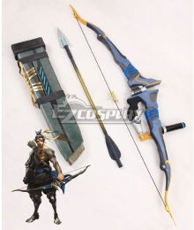 Overwatch OW Hanzo Shimada Bow and arrow Cosplay Weapon Prop
