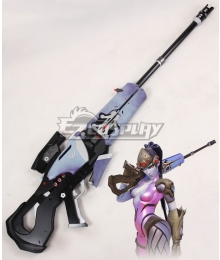 Overwatch OW Widowmaker Amelie Lacroix Sniper Gun Cosplay Weapon Prop