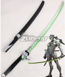 Overwatch OW Genji Shimada Long sword Cosplay Weapon Prop - A Edition