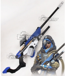 Overwatch OW Ana Amari Gun Cosplay Weapon Prop