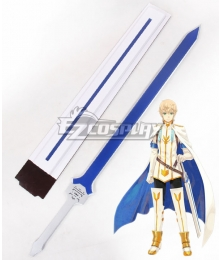 Tales of Berseria Oscar Dragonia Sword Cosplay Weapon Prop